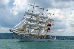 Regatta alto 2010 de la nave de los mares históricos Imagenes de archivo