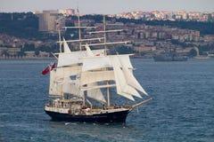 Regatta alto 2010 de las naves - tenaz Fotografía de archivo