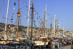 Regatta alto 2010 della nave Fotografia Stock