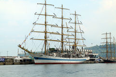Regatta alto 2010 della nave dei mari storici Fotografia Stock