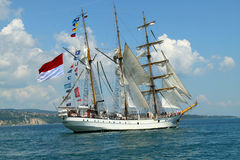 Regatta alto 2010 do navio dos mares históricos Foto de Stock Royalty Free