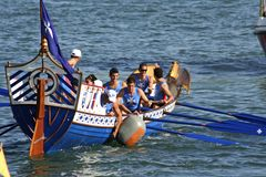Regatta ancient maritime Republics Royalty Free Stock Photography