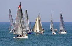 Regatta of Conero, Ancona Stock Photography