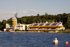 Regatta course Royalty Free Stock Photography