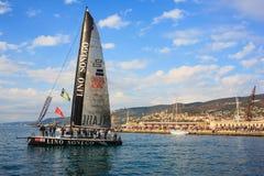 Regatta de Barcolana, Trieste imagens de stock