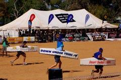 Regatta de Henley-Em-Todd, raça do caiaque Imagem de Stock Royalty Free