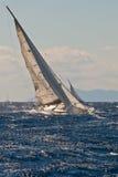 Regatta de yacht images libres de droits
