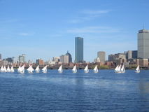 Regatta de yacht de Boston Photos stock