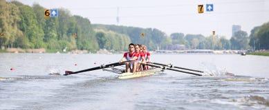 Regatta del Rowing fotos de archivo libres de regalías