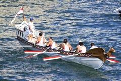 Regatta delle Repubbliche marittime antiche 2010 Immagini Stock