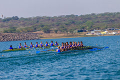 Regatta Eights Oct Rowing Schools Stock Photos