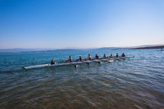 Regatta Eights Octs Boys Team Water Stock Images