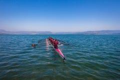 Regatta Eights Octs Team Water Horizon Stock Image