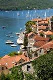 Regatta en bahía Foto de archivo libre de regalías