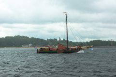 Regatta escort tour Royalty Free Stock Image