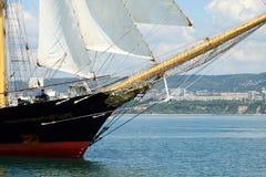 Regatta grand 2010 de bateau de mers historiques Photo libre de droits