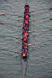 Regatta internacional del Rowing en Turín Imagen de archivo