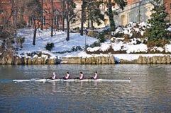Regatta internacional del Rowing en Turín Fotos de archivo libres de regalías