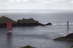 Regatta przy 'losu angeles pointe Du Pachwina Â' zdjęcie stock