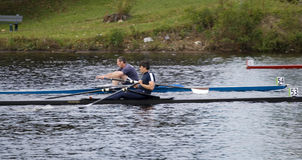 Regatta Racers Michael Murray (54),Gus Stuart(53) Royalty Free Stock Image