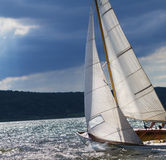 Regatta, sailing. Competition for marine sports Stock Photo