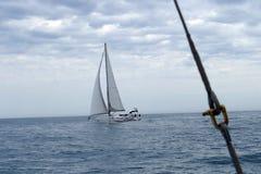 Regatta sports yacht Royalty Free Stock Photo