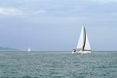 Regatta sports yacht Stock Photos