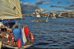 Regatta, St. Petersburg, Russia Stock Image