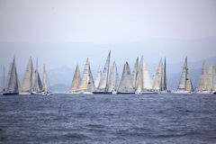 Regatta start Stock Photography