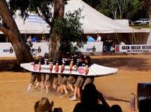 regatta todd henley 8s участвуя в гонке Стоковая Фотография RF