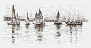 Regatta Stock Image