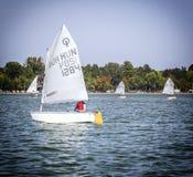 Regatta Vintage Days 2015 in Lake Palic Stock Photo