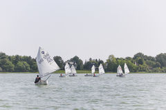 Regatta Vintage Days 2015 in Lake Palic Royalty Free Stock Photos