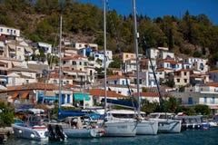 Regatta Viva Grecia 2012 de la navegación Foto de archivo