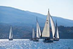 Regatta Viva Grecia 2012 di navigazione Fotografia Stock Libera da Diritti