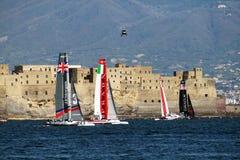 Regatta w Naples Zdjęcie Stock