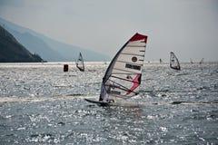 Regatta Windsurfing imagens de stock