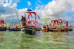 Regattalepa in Sabah Royalty-vrije Stock Foto's