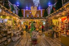 Regeer van Santa Claus dichtbij Vetralla, Italië stock afbeelding