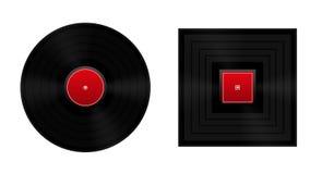 Regel het Cirkel Vinylverslag Royalty-vrije Stock Afbeeldingen