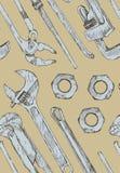 Regelbare moersleutels Stock Foto