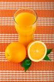 Regeling van sinaasappel Stock Fotografie
