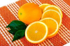 Regeling van sinaasappel Stock Foto