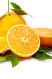 Regeling van sinaasappel Royalty-vrije Stock Afbeelding