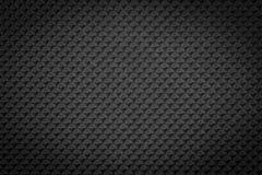 Regelmäßige Plastikbeschaffenheit des dunklen Schwarzen Stockfoto