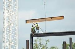 Regelmatig nu De Waaghalzen van de bouwbemanning stock afbeelding