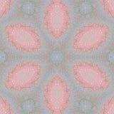 Regelmatige bloemen roze violette purple van het ellipsenpatroon Royalty-vrije Stock Afbeeldingen