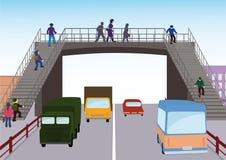 Regels van weg stock illustratie