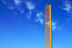 Regelwidrig/ehrlich Pole Stockfoto