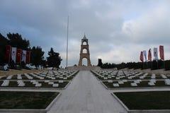 Regemente 57 av kyrkogårdar och monumentet Royaltyfri Fotografi
